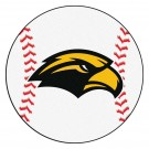 "27"" Round Southern Mississippi Golden Eagles Baseball Mat"