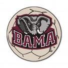 "27"" Round Alabama Crimson Tide Soccer Mat"