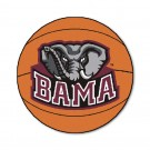 "27"" Round Alabama Crimson Tide Basketball Mat"