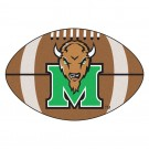 "22"" x 35"" Marshall Thundering Herd Football Mat"
