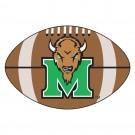 "22"" x 35"" Marshall Thundering Herd Football Mat"