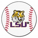 "Louisiana State (LSU) Tigers 27"" Round Baseball Mat"
