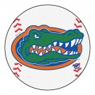"Florida Gators 27"" Round Baseball Mat"
