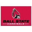 """Ball State Cardinals 19"""" x 30"""" Starter Mat"""