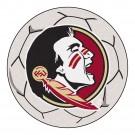 "27"" Round Florida State Seminoles Soccer Mat"