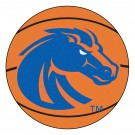 "27"" Round Boise State Broncos Basketball Mat"