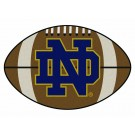 "Notre Dame Fighting Irish 22"" x 35"" Football Mat (with ""ND"")"