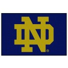 "Notre Dame Fighting Irish 19"" x 30"" Starter Mat (with ""ND"")"