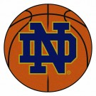 "Notre Dame Fighting Irish 27"" Round Basketball Mat (with ""ND"")"