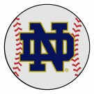 "Notre Dame Fighting Irish 27"" Round Baseball Mat (with ""ND"")"