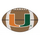 "Miami Hurricanes 22"" x 35"" Football Mat"