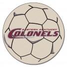 """Eastern Kentucky Colonels 27"""" Round Soccer Ball Mat"""