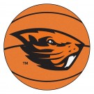 "Oregon State Beavers 27"" Round Basketball Mat"