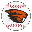 """Oregon State Beavers 27"""" Round Baseball Mat"""