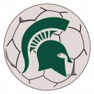 "27"" Round Michigan State Spartans Soccer Mat"