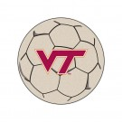 "27"" Round Virginia Tech Hokies Soccer Mat"