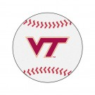 "27"" Round Virginia Tech Hokies Baseball Mat"