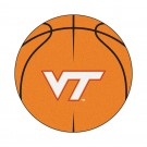 "27"" Round Virginia Tech Hokies Basketball Mat"