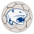 "27"" Round South Alabama Jaguars Soccer Mat"