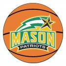 "George Mason Patriots 27"" Round Basketball Mat"