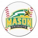 "George Mason Patriots 27"" Round Baseball Mat"