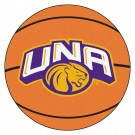 "27"" Round North Alabama Lions Basketball Mat"