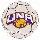 "27"" Round North Alabama Lions Soccer Mat"