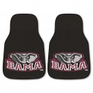 "Alabama Crimson Tide 17"" x 27"" Carpet Auto Floor Mat (Set of 2 Car Mats)"
