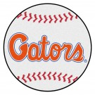 "27"" Round Florida Gators Baseball Mat (with ""Gators"")"