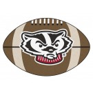 "Wisconsin Badgers 22"" x 35"" Football Mat"