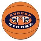 "27"" Round Auburn Tigers Basketball Mat"