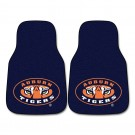 "Auburn Tigers 17"" x 27"" Carpet Auto Floor Mat (Set of 2 Car Mats)"