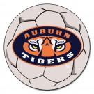 "27"" Round Auburn Tigers Soccer Mat"