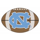 "22"" x 35"" North Carolina Tar Heels Football Mat (with ""NC"")"