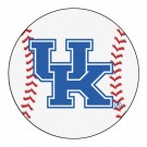 "27"" Round Kentucky Wildcats Baseball Mat (with ""UK"")"