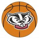 "Wisconsin Badgers 27"" Round Basketball Mat"
