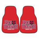 "Arkansas State Red Wolves 27"" x 18"" Auto Floor Mat (Set of 2 Car Mats)"