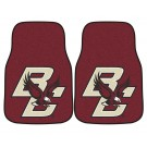"Boston College Eagles 17"" x 27"" Carpet Auto Floor Mat (Set of 2 Car Mats)"
