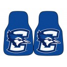 "Creighton Blue Jays 17"" x 27"" Carpet Auto Floor Mat (Set of 2 Car Mats)"