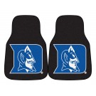 "Duke Blue Devils 17"" x 27"" Carpet Auto Floor Mat (Set of 2 Car Mats)"
