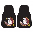"Florida State Seminoles 17"" x 27"" Carpet Auto Floor Mat (Set of 2 Car Mats)"