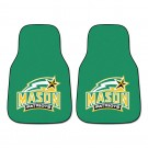 "George Mason Patriots 27"" x 18"" Auto Floor Mat (Set of 2 Car Mats)"