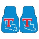 "Louisiana Tech Bulldogs 27"" x 18"" Auto Floor Mat (Set of 2 Car Mats)"