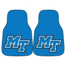 "Middle Tennessee State Blue Raiders 27"" x 18"" Auto Floor Mat (Set of 2 Car Mats)"