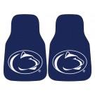 "Penn State Nittany Lions 17"" x 27"" Carpet Auto Floor Mat (Set of 2 Car Mats)"