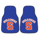 "Syracuse Orange (Orangemen) 17"" x 27"" Carpet Auto Floor Mat (Set of 2 Car Mats)"