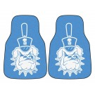 "Citadel Bulldogs 17"" x 27"" Carpet Auto Floor Mat (Set of 2 Car Mats)"