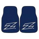 """Akron Zips 17"""" x 27"""" Carpet Auto Floor Mat (Set of 2 Car Mats)"""