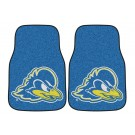"Delaware Fightin' Blue Hens 17"" x 27"" Carpet Auto Floor Mat (Set of 2 Car Mats)"