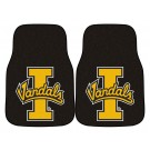 "Idaho Vandals 17"" x 27"" Carpet Auto Floor Mat (Set of 2 Car Mats)"